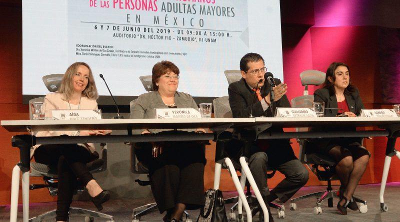 """Seminario """"Los derechos humanos de las personas adultas mayores en México"""""""