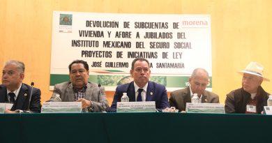 """foro """"Devolución de subcuentas de vivienda y Afore a jubilados del Instituto Mexicano del Seguro Social. Proyectos de iniciativas de ley"""""""