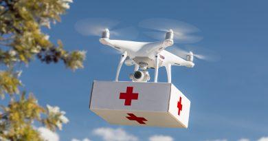 dron de emergencia