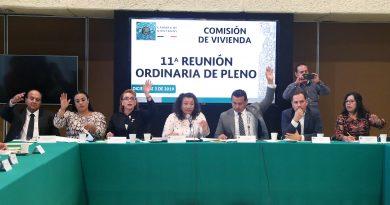 Comisión De Vivienda, 11ª Reunión Ordinaria De Pleno 3 De Diciembre De 2019
