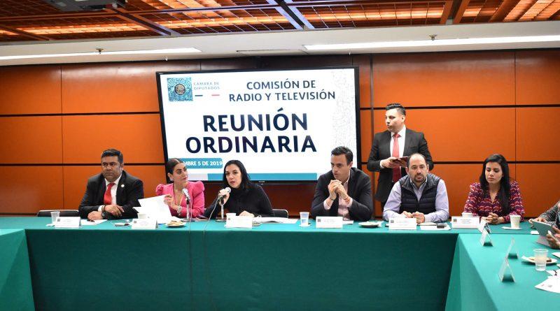 Comisión De Radio Y Televisión, Reunión Ordinaria 5 De Diciembre De 2019