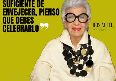 IRIS APFIEL: UN ÍCONO DE LA MODA A SUS 99 AÑOS