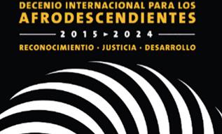 Cartel delDecenio Internacional para los Afrodescendientes