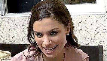 Foto de la conductora de televisión Tábata Jalil