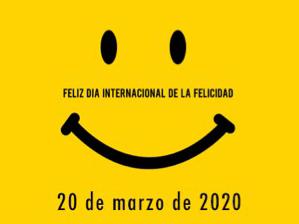 Cartel del Día Internacional de la Felicidad