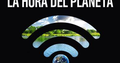 Cartel de La Hora del Planeta 2020.