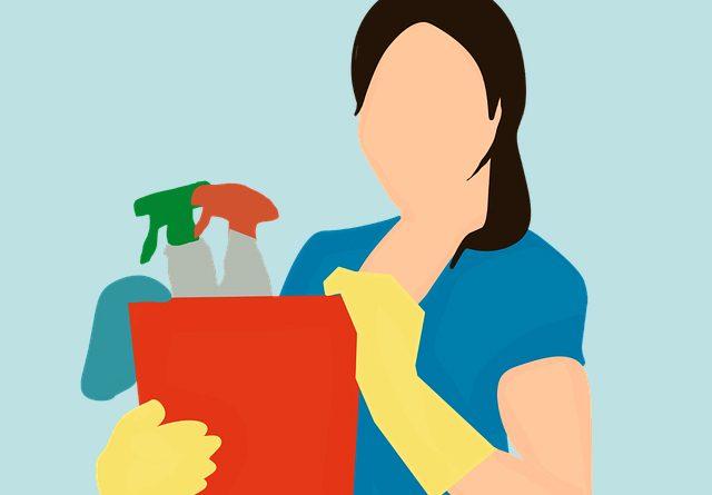 Imagen de trabajadora del hogar