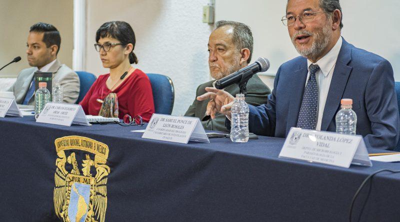 Conferencia de medios de la Comisión universitaria de la UNAM