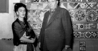 Frida Kahlo y Diego Rivera.