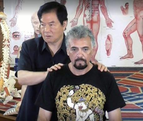 Jerónimo García con Real Master Mantak Chia