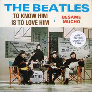 Portada del disco de The Beatles canción Bésame mucho