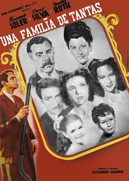 Cartel de la película Una familia de tantas