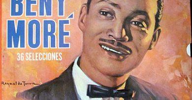 Portada del disco Lo mejor de Benny Moré..