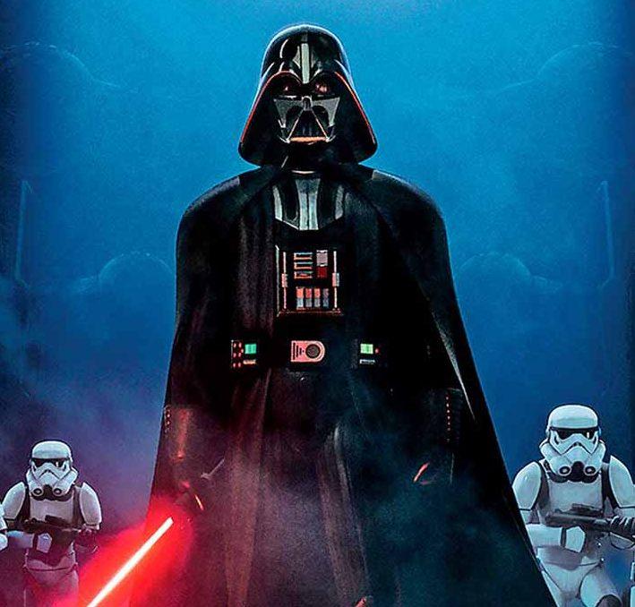 Cartel de la saga Star Wars