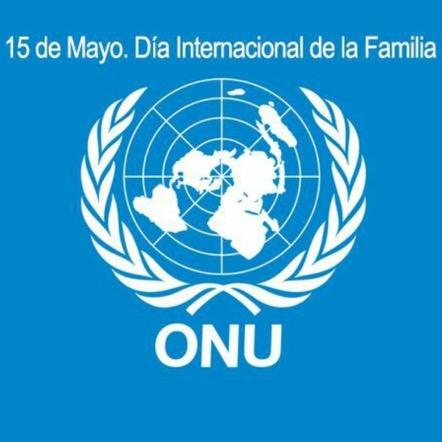Cartel de la ONU del Día Internacional de las Familias.
