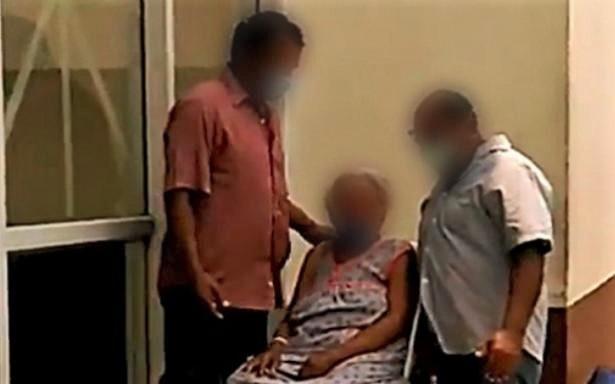 Mujer de 102 años de edad supera enfermedad respiratoria y egresa del HGZ No.36 del IMSS en Coatzacoalcos