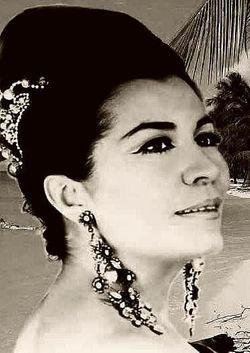 Cantante del género ranchero Lola Beltrán.