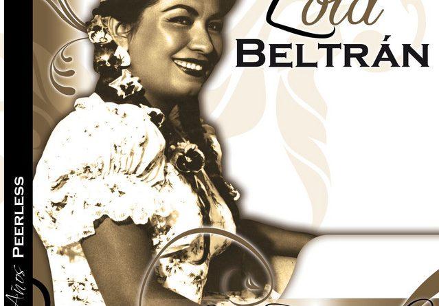 Portada de disco de Lola Beltrán.