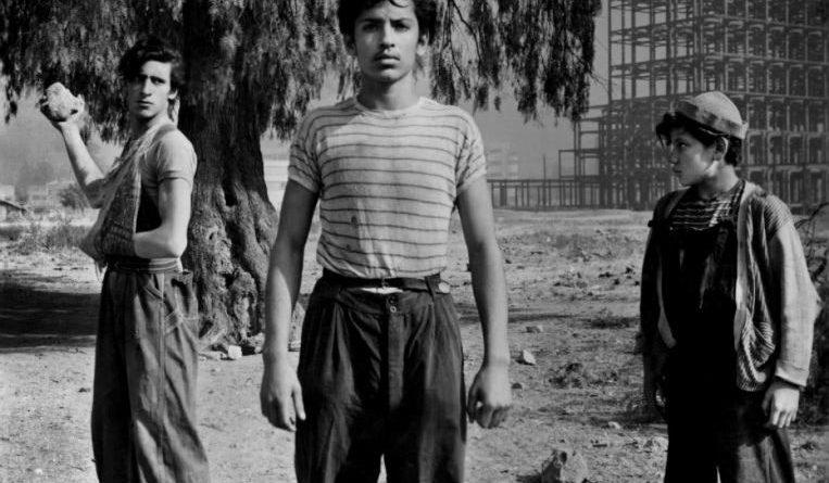 Escena de la película Los olvidados de Luis Buñuel.
