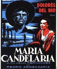 Cartel de la película María Candelaria.