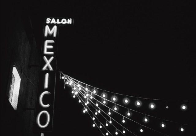 Marquesina del Salón México.