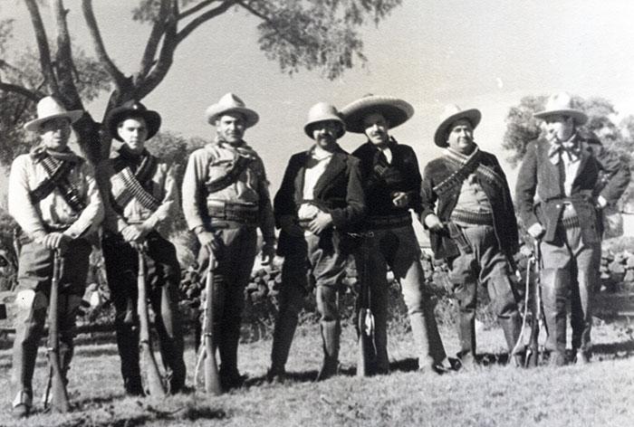Escena de la película Vámonos con Pancho Villa.
