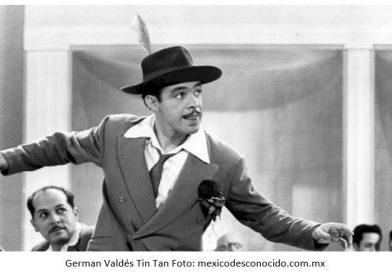 """Homenajean a German Valdés """"Tin-Tan"""" locatarios del Mercado Juárez"""