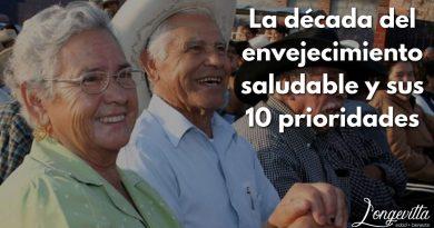 La década del envejecimiento saludable y sus 10 prioridades